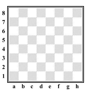 русские шашки - шашечная доска