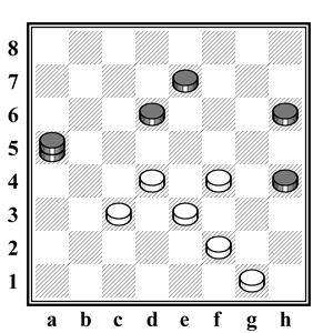 русские шашки - правило турецкого удара