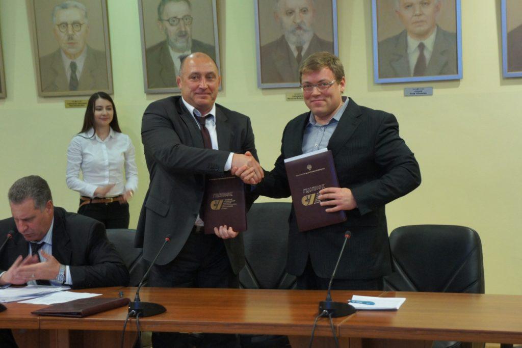 А.Блеер (РГУФКСМиТ) и А.Никитин (ФШР)
