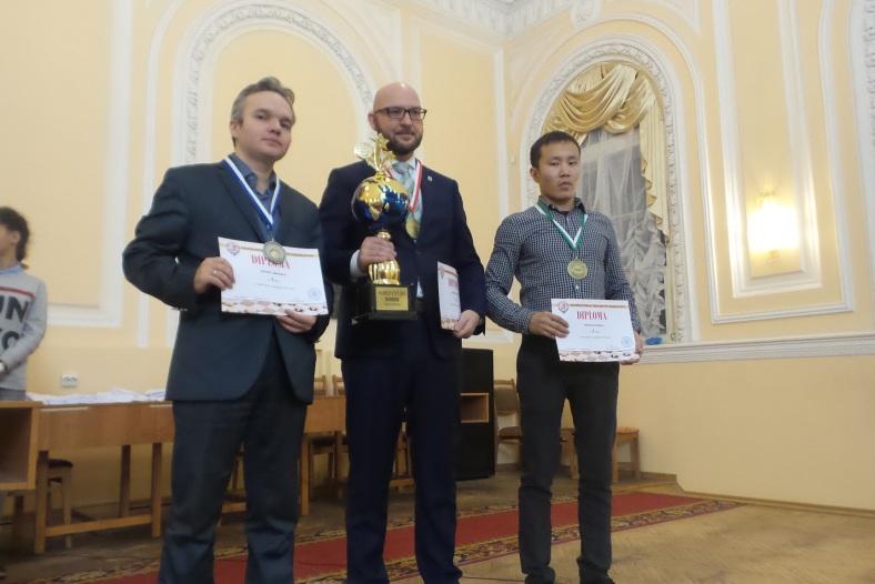 Кубок мира 64: В.Скрабов, Д.Цинман, А.Федотов