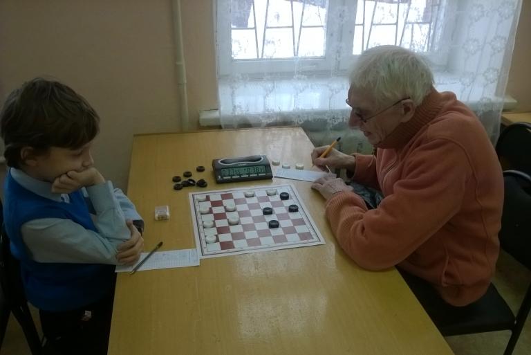 Чемпионат России по обратной игре в шашки 2016