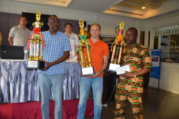 Тройка призёров Thailand Open 2016 среди мужчин