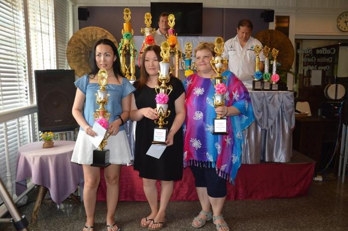 Тройка призёров Thailand Open 2016 среди женщин