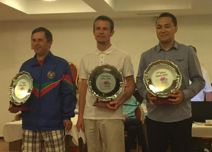 Тройка призёров Salou Open 2016 среди мужчин