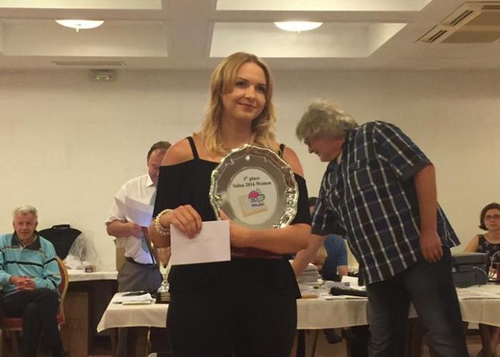 Победительница Salou Open 2016 среди женщин Наталья Садовска