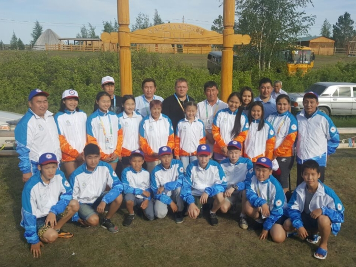 VI Международные спортивные игры «Дети Азии» команда Республики Саха (Якутия) по шашкам
