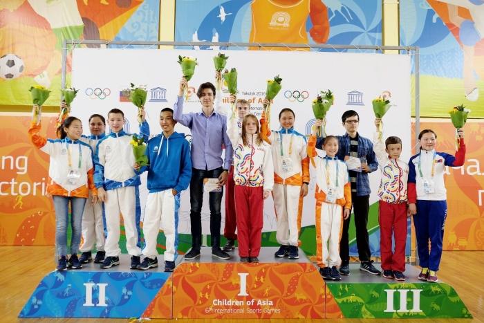 VI Международные спортивные игры «Дети Азии» 2016