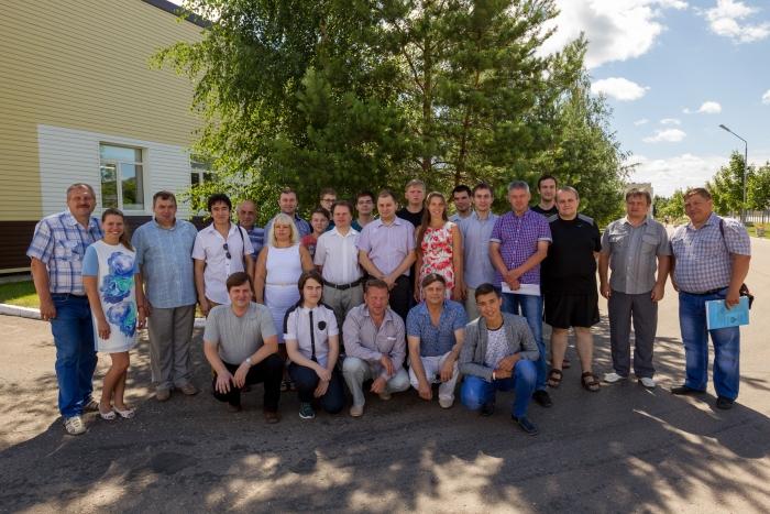 Участники Всероссийских соревнований «Мирный атом» 2016