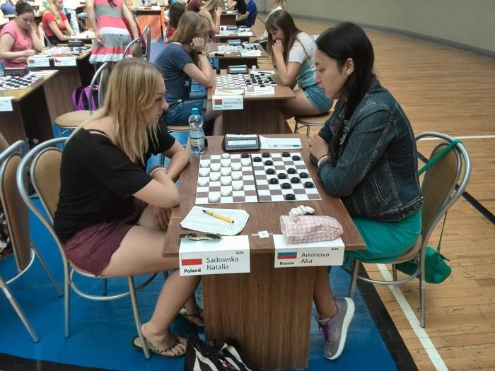 Молодёжное первенство Европы 2016 по стоклеточным шашкам