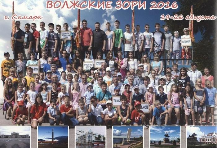 Всероссийские соревнования «Волжские зори-2016»