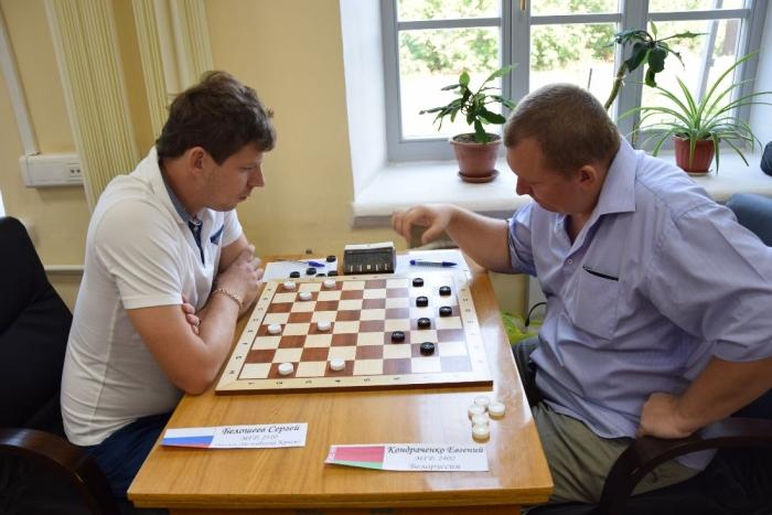 Сергей Белошеев и Евгений Кондраченко