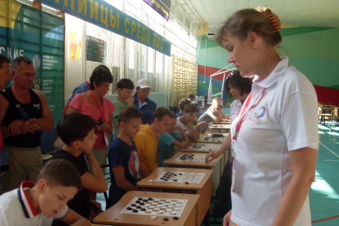 Президентские спортивные игры 2016 - шашки