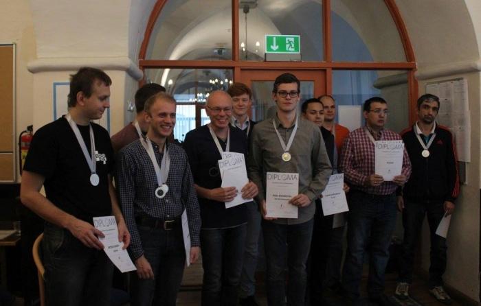 Командный чемпионат Европы по стоклеточным шашкам 2016 - призёры мужского турнира