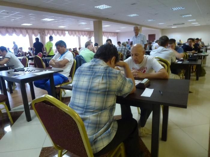 Чемпионат России по русским шашкам 2016 - турнирный зал