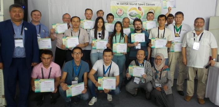 VI Всемирные игры ТАФИСА - участники соревнований по шашкам