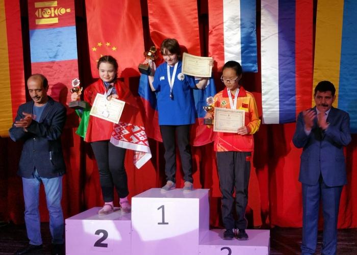 Молодёжный чемпионат мира по стоклеточным шашкам 2016 - Ольга Балукова