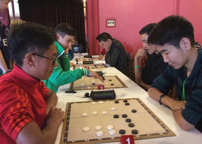 Молодёжный чемпионат мира по стоклеточным шашкам 2016 - - турецкие шашки