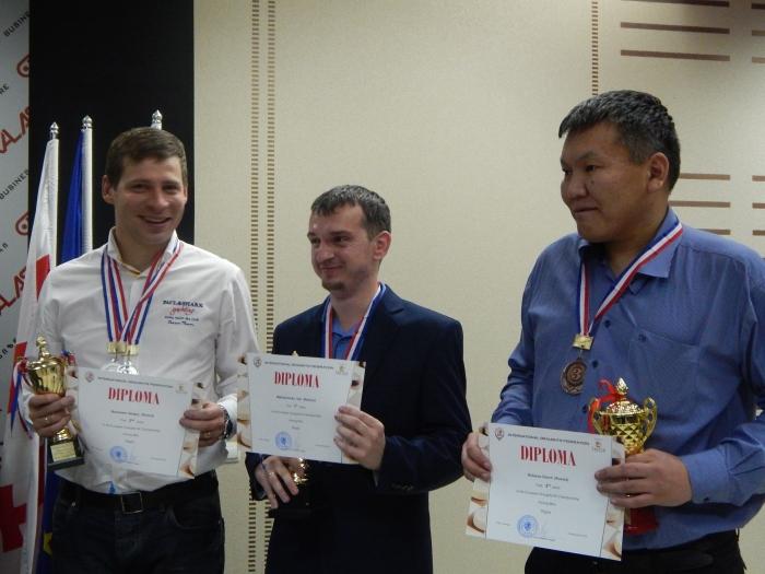 Чемпионат Европы по шашкам-64 2016