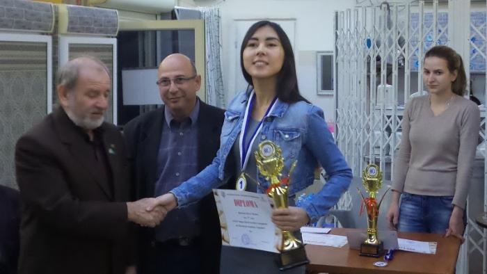 Международный турнир Израиль-2016 - Жанна Саршаева