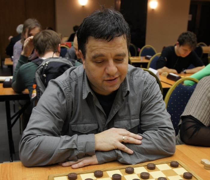 Александр Шварцман - чемпион Европы по блицу в стоклеточные шашки 2017
