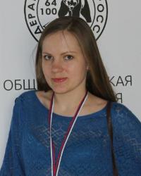 Русские шашки, чемпионка России 2017 - Анна Мортикова