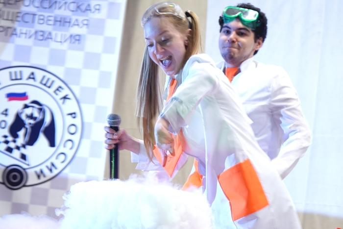 Первенство России по русским шашкам среди младших возрастов 2017 Церемония открытия