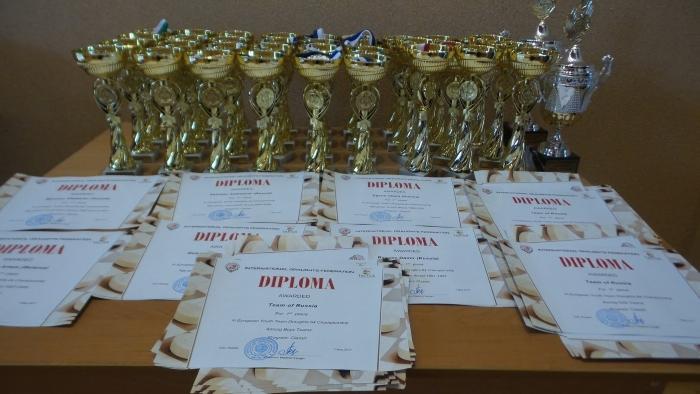 Первенство Европы по русским шашкам 2017