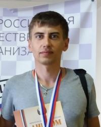 Стоклеточные шашки, чемпион России 2017 - Максим Мильшин