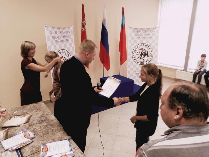 Всероссийские соревнования по русским шашкам
