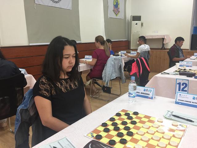 Айгуль Идрисова - победительница молниеносной программы Международного турнира Mongolia Open 2017