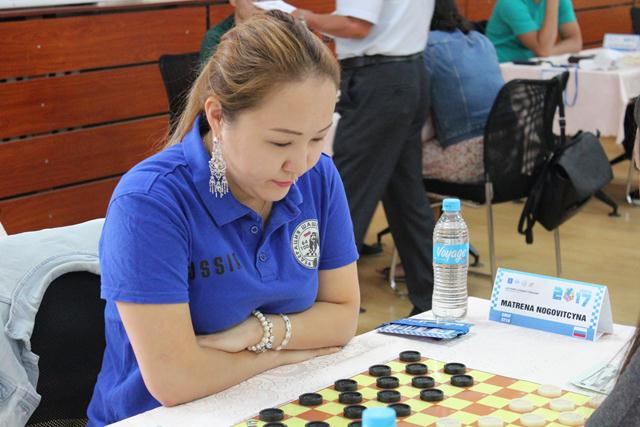 Матрёна Ноговицына - победительница молниеносной программы Международного турнира Mongolia Open 2017