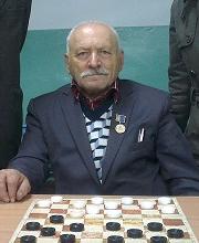 Заслуженный тренер Республика Бурятия по шашкамФеликс Александрович Завелинский