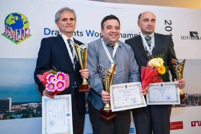 Чемпионат мира по стоклеточным шашкам 2017