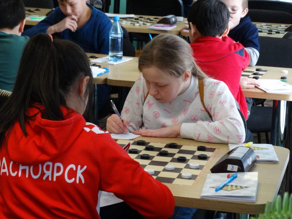 Первенство СФО по русским шашкам