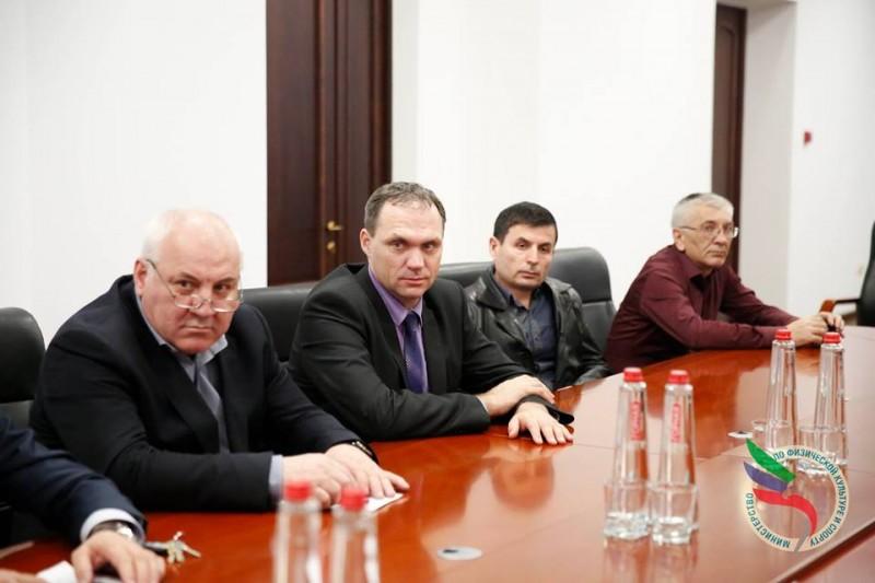 Рабочая встреча в Республике Дагестан