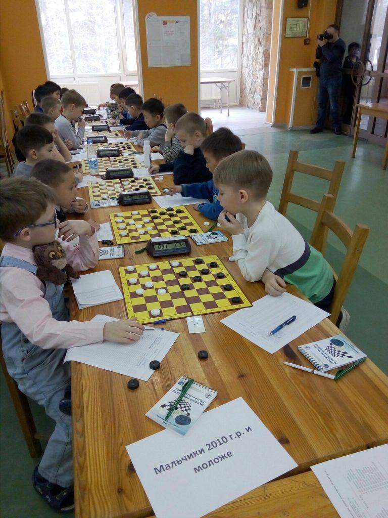 Первенство России по русским шашкам 2018 (младшие возраста) (итоги)