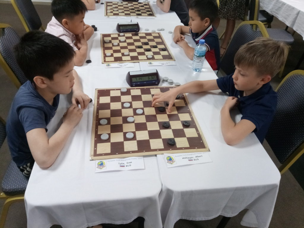 Молодежный лично-командный Чемпионат Европы по шашкам-64 (русская версия) 2018 (итоги)