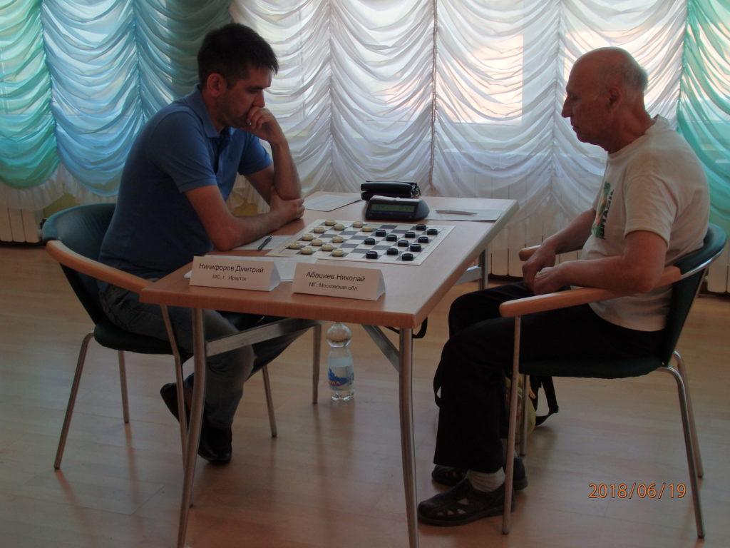 Кубок России и Всероссийские соревнования по русским шашкам (итоги)