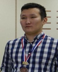 Стоклеточные шашки, чемпион России 2018 - Николай Гуляев