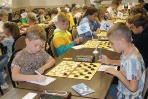 Стартовали Всероссийские соревнования по русским шашкам в Коломне 2018
