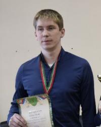 Русские шашки, чемпион России 2017 - Олег Дашков