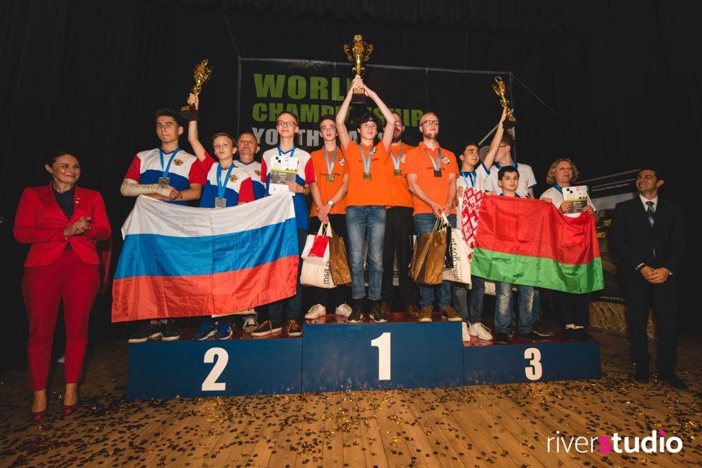 Молодежный командный чемпионат мира по стоклеточным шашкам 2018