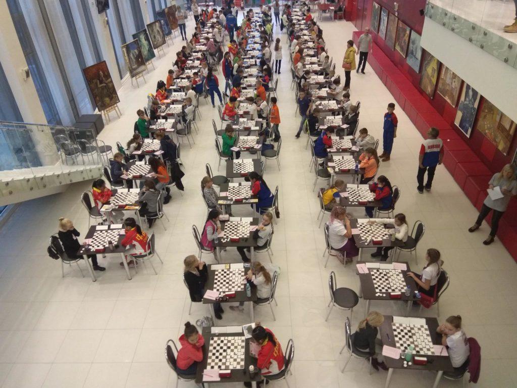 Молодежный Чемпионат Мира 2018 по стоклеточным шашкам