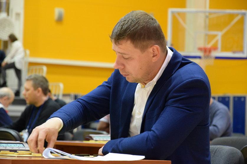 Чемпионат Мира по русским шашкам 2018, Сергей Белошеев