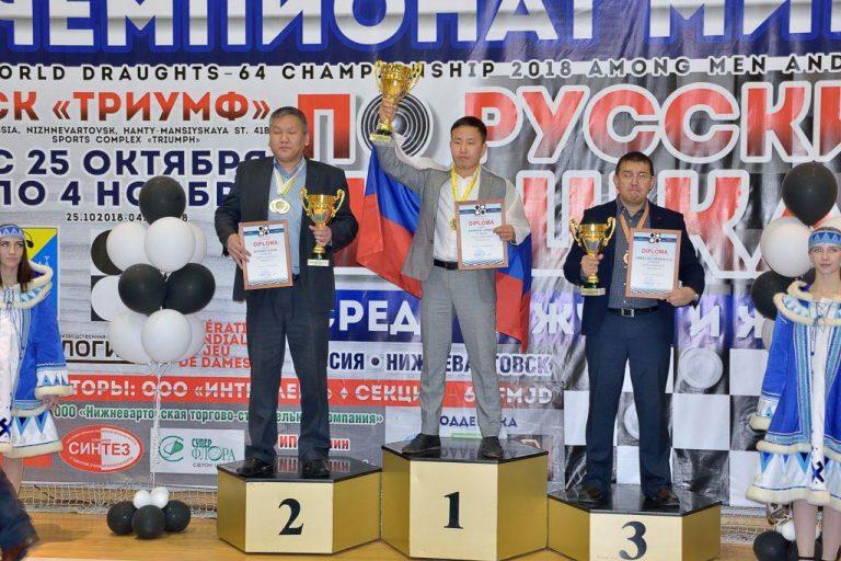 Чемпионат Мира по русским шашкам 2018, Андрей Федотов
