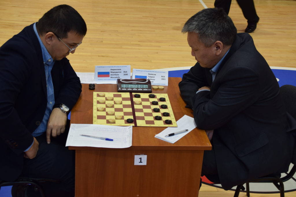 Чемпионат Мира по русским шашкам 2018, Гаврил Колесов