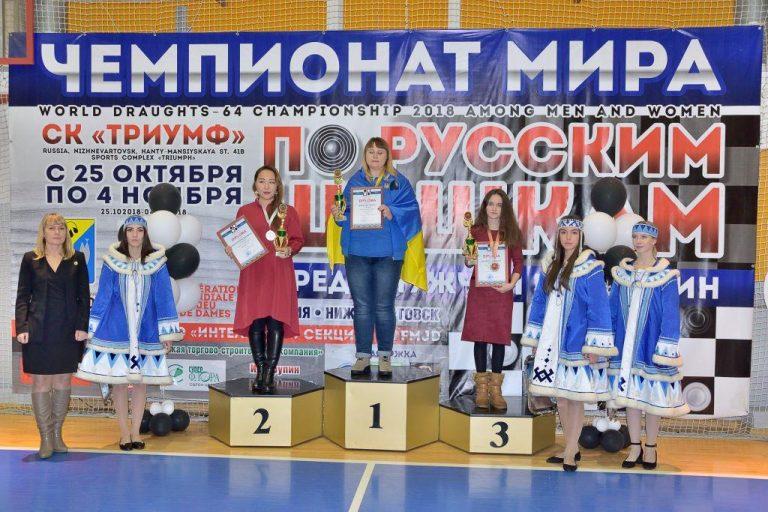 Чемпионат Мира по русским шашкам 2018, Елена Короткая