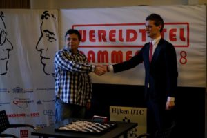 Матч за звание Чемпиона мира по стоклеточным шашкам 2018