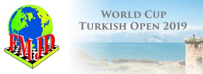 Этап Кубка мира Turkish Open по шашкам-64 2019