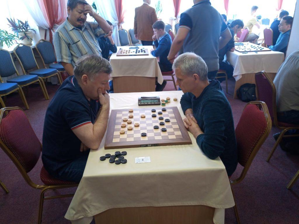 Чемпионат России по стоклеточным шашкам 2019